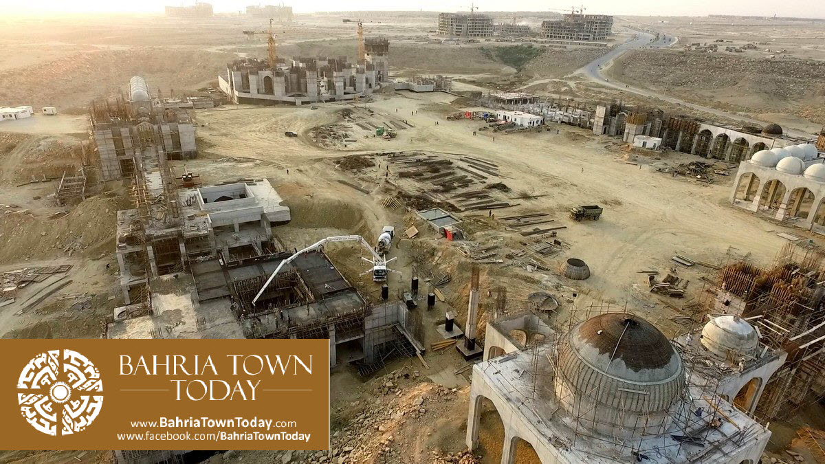 Bahria Town Karachi Latest Progress Update – March 2016 (40)