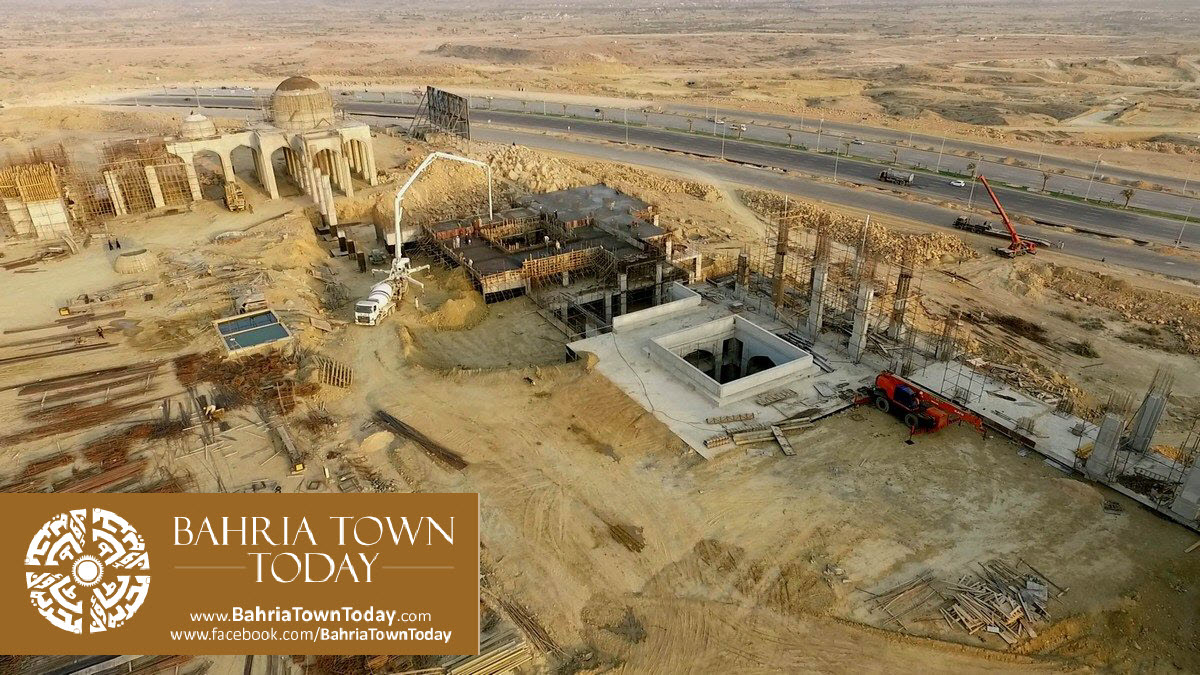 Bahria Town Karachi Latest Progress Update – March 2016 (49)