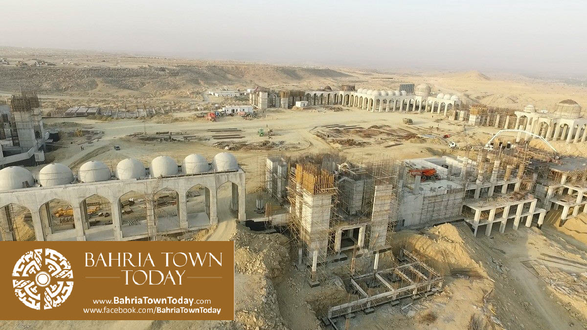 Bahria Town Karachi Latest Progress Update – March 2016 (52)