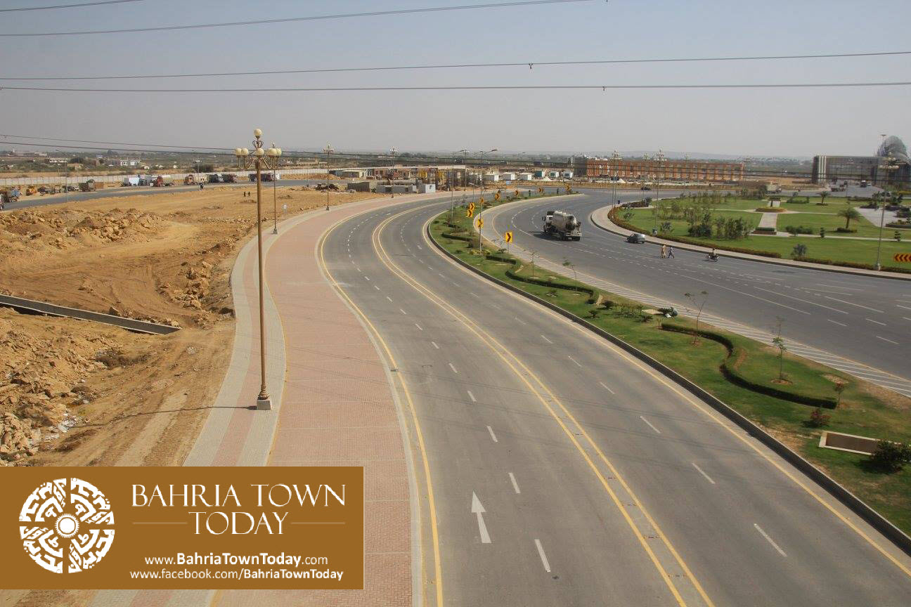 Bahria Town Karachi Latest Progress Update – March 2016 (57)