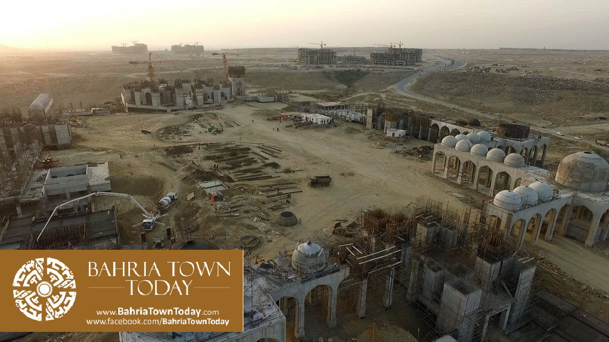 Bahria Town Karachi Latest Progress Update – March 2016 (62)