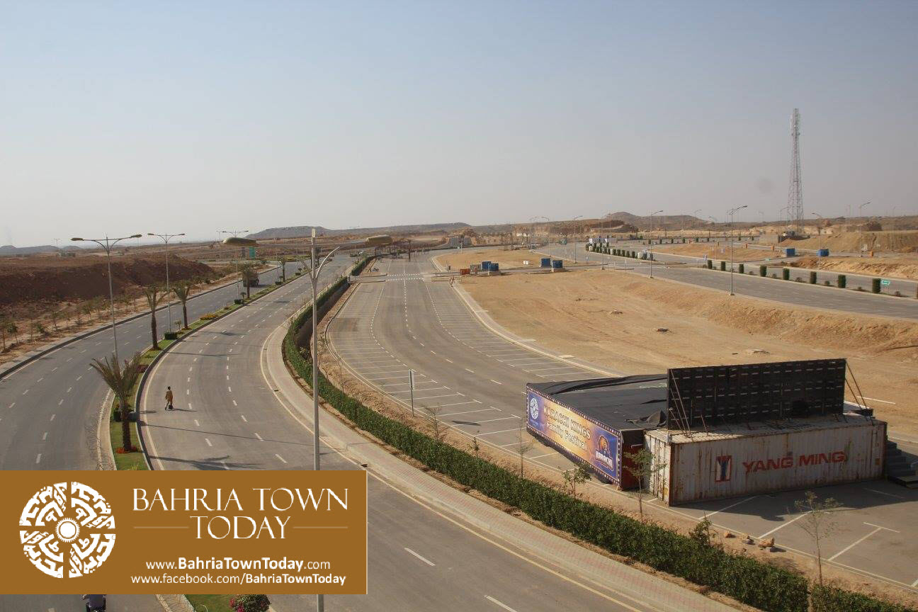 Bahria Town Karachi Latest Progress Update – March 2016 (8)