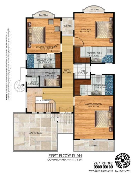 4 Bedroom (350 Square Yards) Luxury Villas in Bahria Sports City Karachi (3)