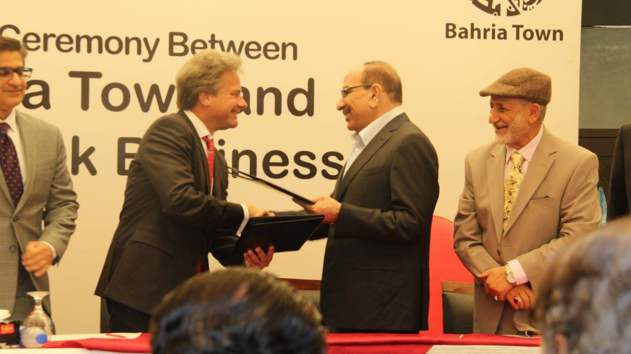 Bahria Town goes Digital with Mobilink (1)