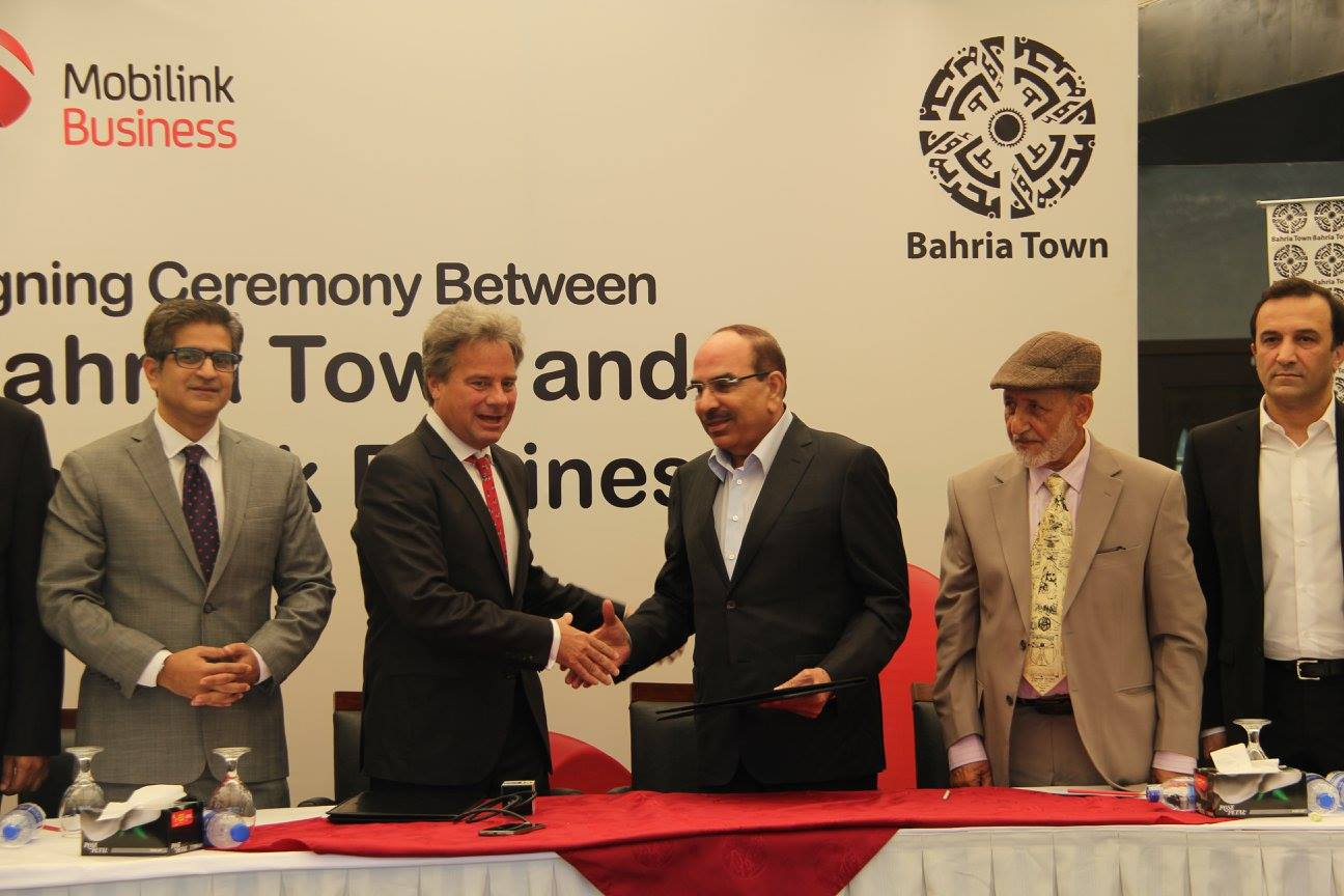 Bahria Town goes Digital with Mobilink (2)