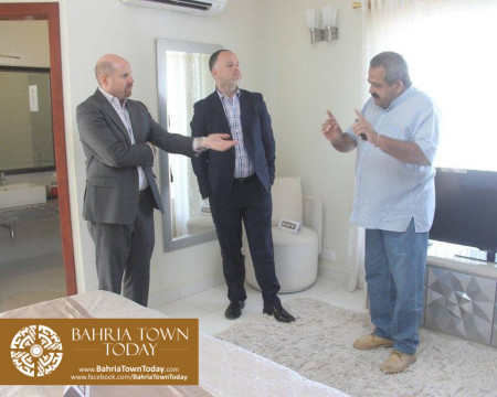 US Council General & Consulate Staff Visited Bahria Town Karachi (1)