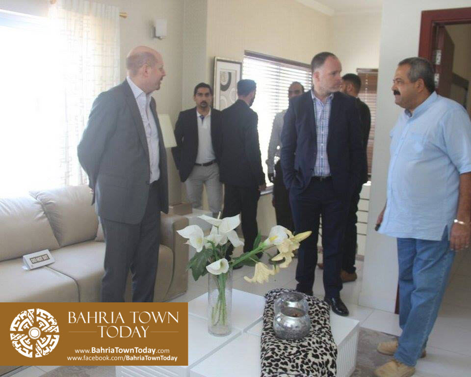 US Council General & Consulate Staff Visited Bahria Town Karachi (10)