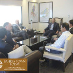 US Council General & Consulate Staff Visited Bahria Town Karachi