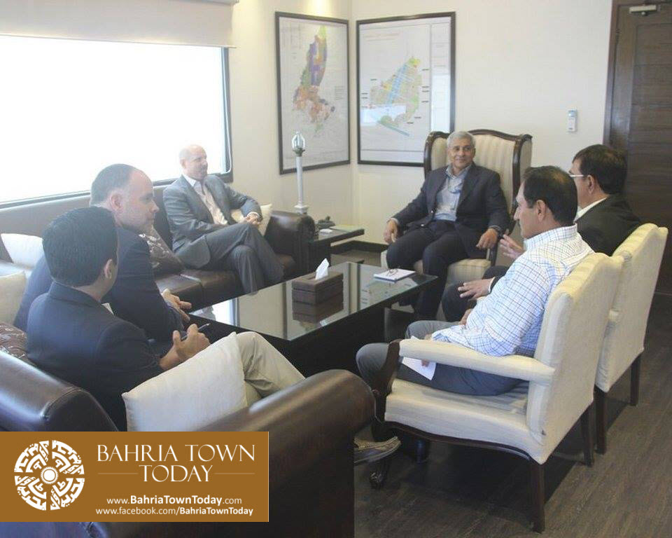 US Council General & Consulate Staff Visited Bahria Town Karachi (11)