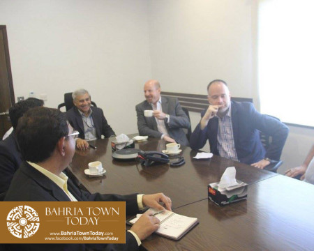 US Council General & Consulate Staff Visited Bahria Town Karachi (12)
