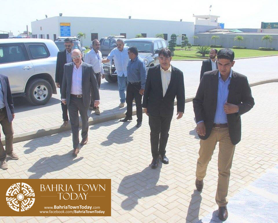 US Council General & Consulate Staff Visited Bahria Town Karachi (13)