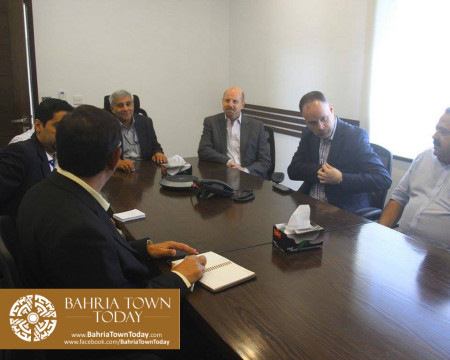 US Council General & Consulate Staff Visited Bahria Town Karachi (16)