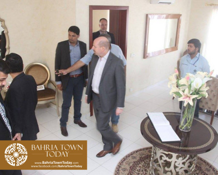 US Council General & Consulate Staff Visited Bahria Town Karachi (17)