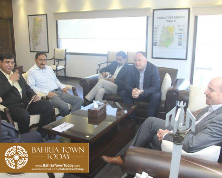 US Council General & Consulate Staff Visited Bahria Town Karachi (18)