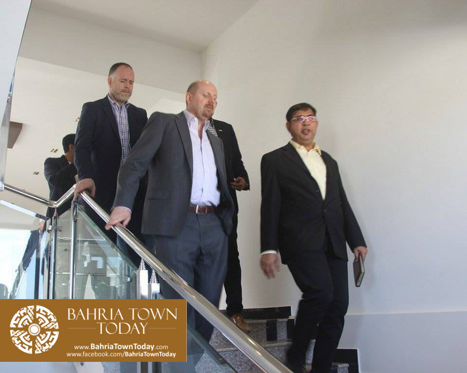 US Council General & Consulate Staff Visited Bahria Town