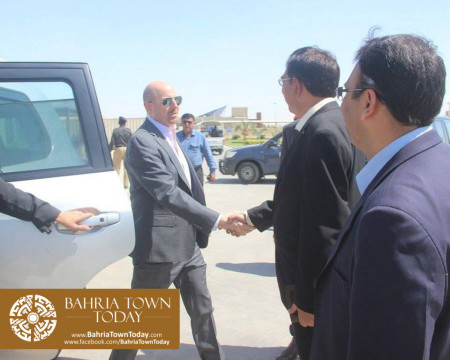 US Council General & Consulate Staff Visited Bahria Town Karachi (2)