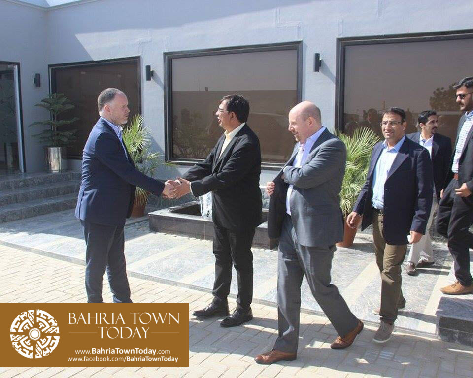 US Council General & Consulate Staff Visited Bahria Town Karachi (20)
