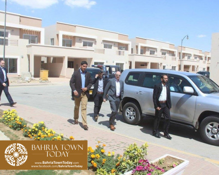 US Council General & Consulate Staff Visited Bahria Town Karachi (3)