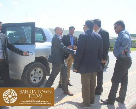 US Council General & Consulate Staff Visited Bahria Town Karachi (4)