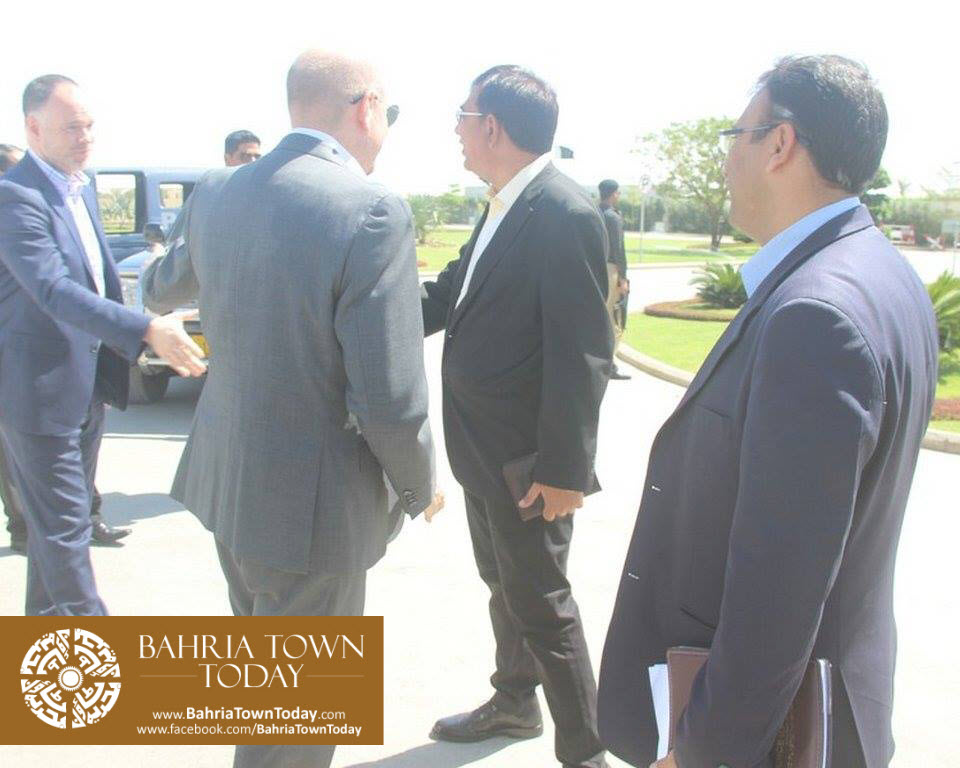 US Council General & Consulate Staff Visited Bahria Town Karachi (5)