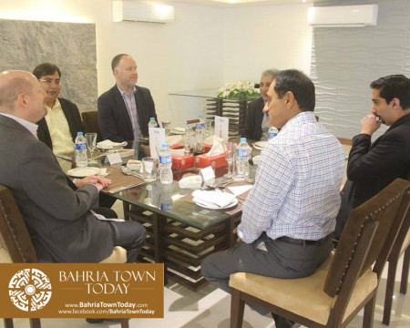 US Council General & Consulate Staff Visited Bahria Town Karachi (6)