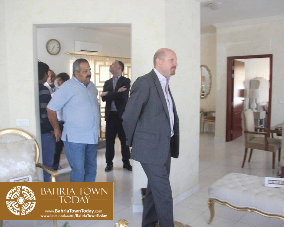 US Council General & Consulate Staff Visited Bahria Town Karachi (7)