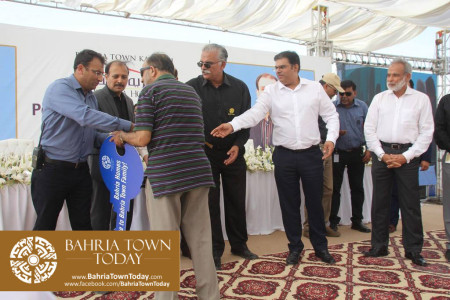 Possession Handover Ceremony of 200 Sq Yard Bahria Homes (Quaid Block) (2)