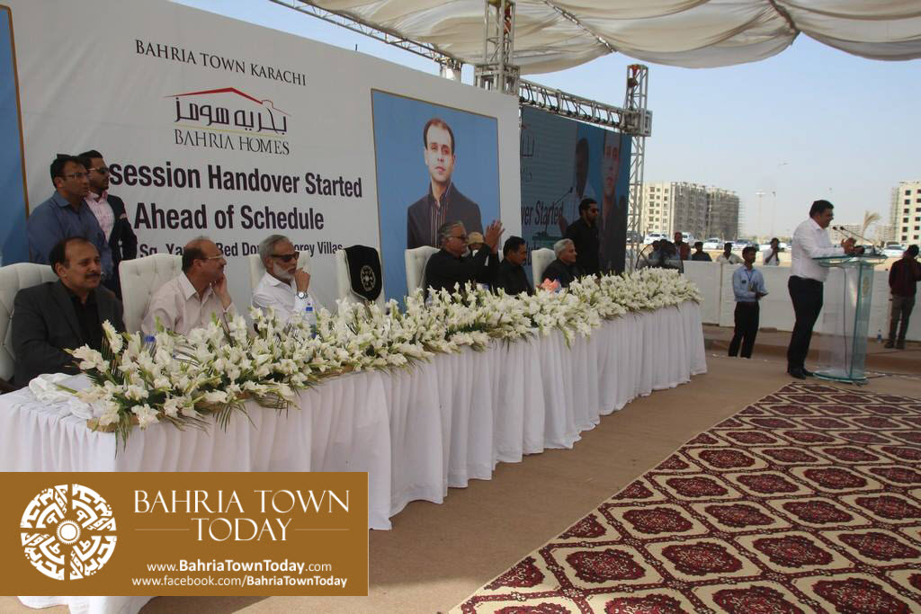 Possession Handover Ceremony of 200 Sq Yard Bahria Homes (Quaid Block) (6)