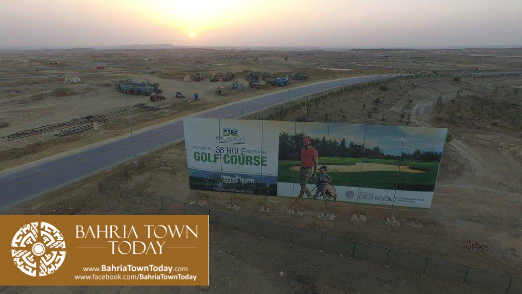 Bahria Golf City Karachi Latest Progress Update – April 2016 (12)