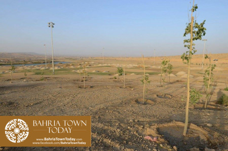 Bahria Golf City Karachi Latest Progress Update - April 2016 (2)