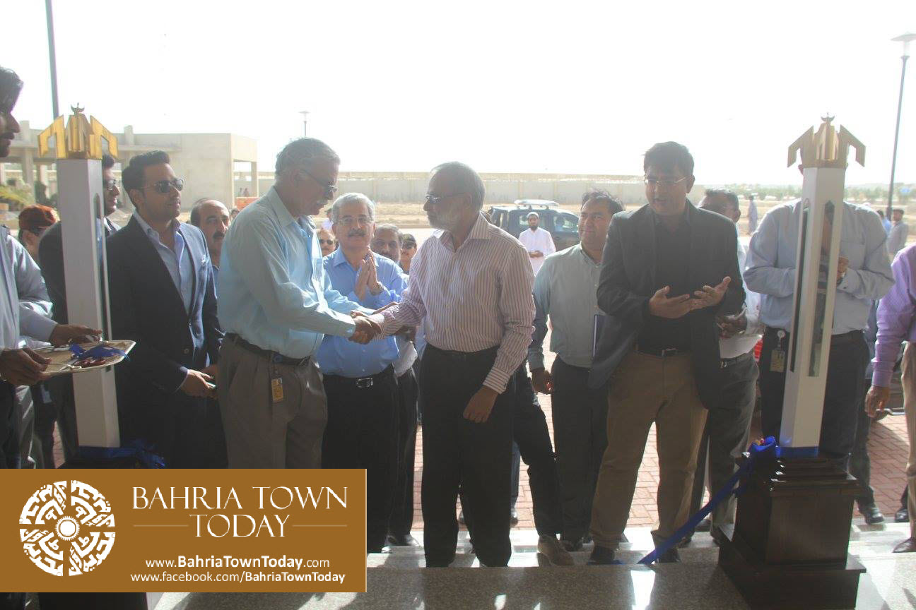 Inauguration of 'Sales & Marketing Office' of Bahria Town Karachi (1)