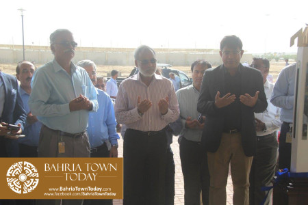 Inauguration of 'Sales & Marketing Office' of Bahria Town Karachi (11)