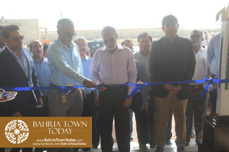 Inauguration of 'Sales & Marketing Office' of Bahria Town Karachi (12)