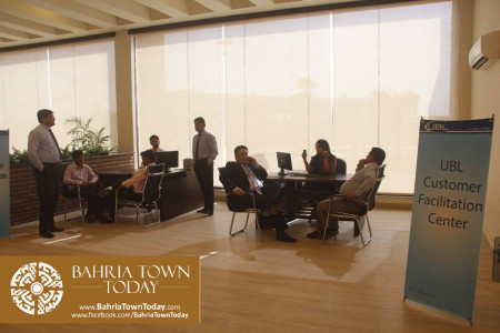 Inauguration of 'Sales & Marketing Office' of Bahria Town Karachi (13)