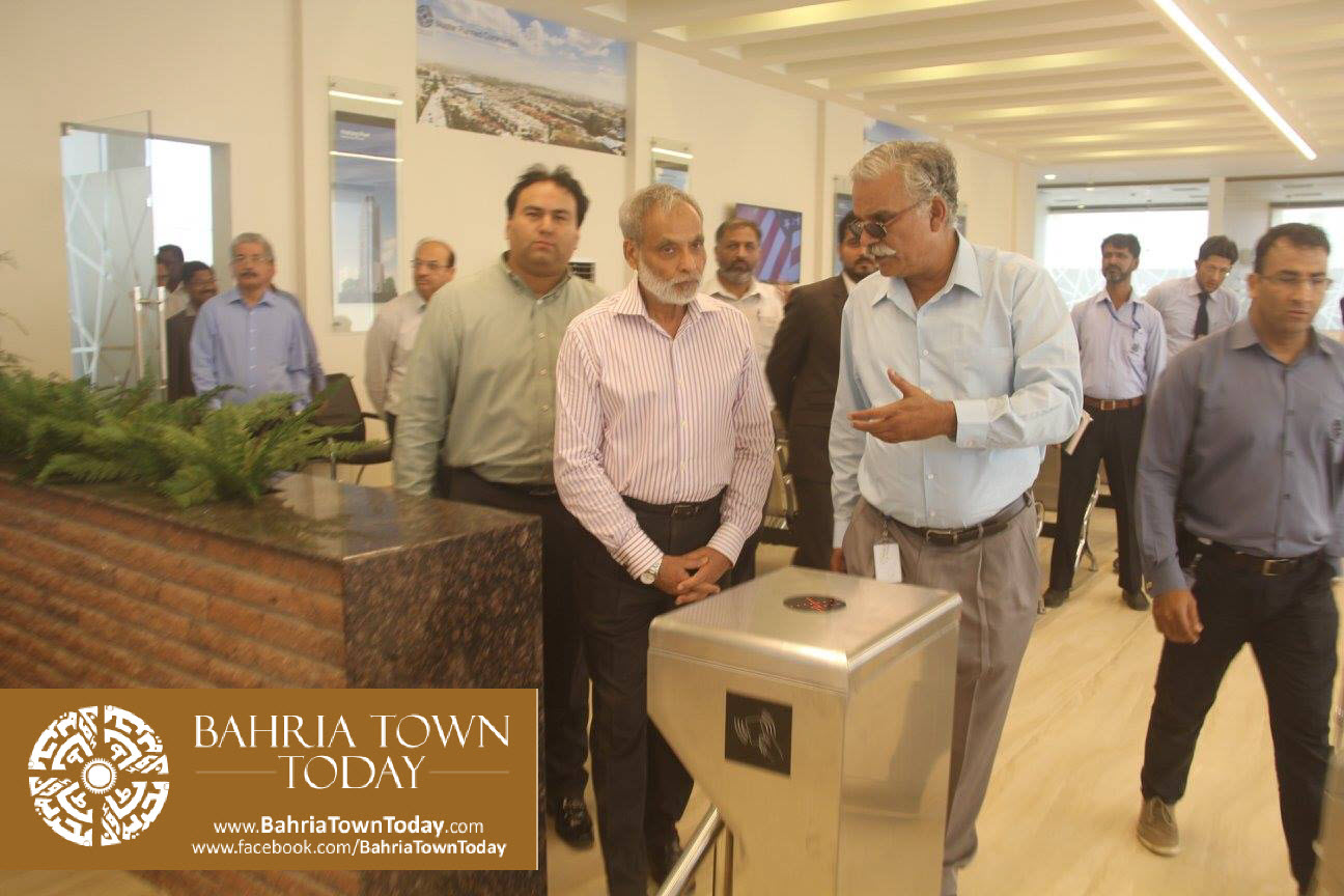 Inauguration of 'Sales & Marketing Office' of Bahria Town Karachi (14)