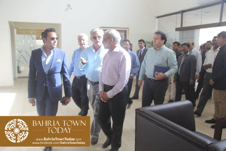 Inauguration of 'Sales & Marketing Office' of Bahria Town Karachi (16)