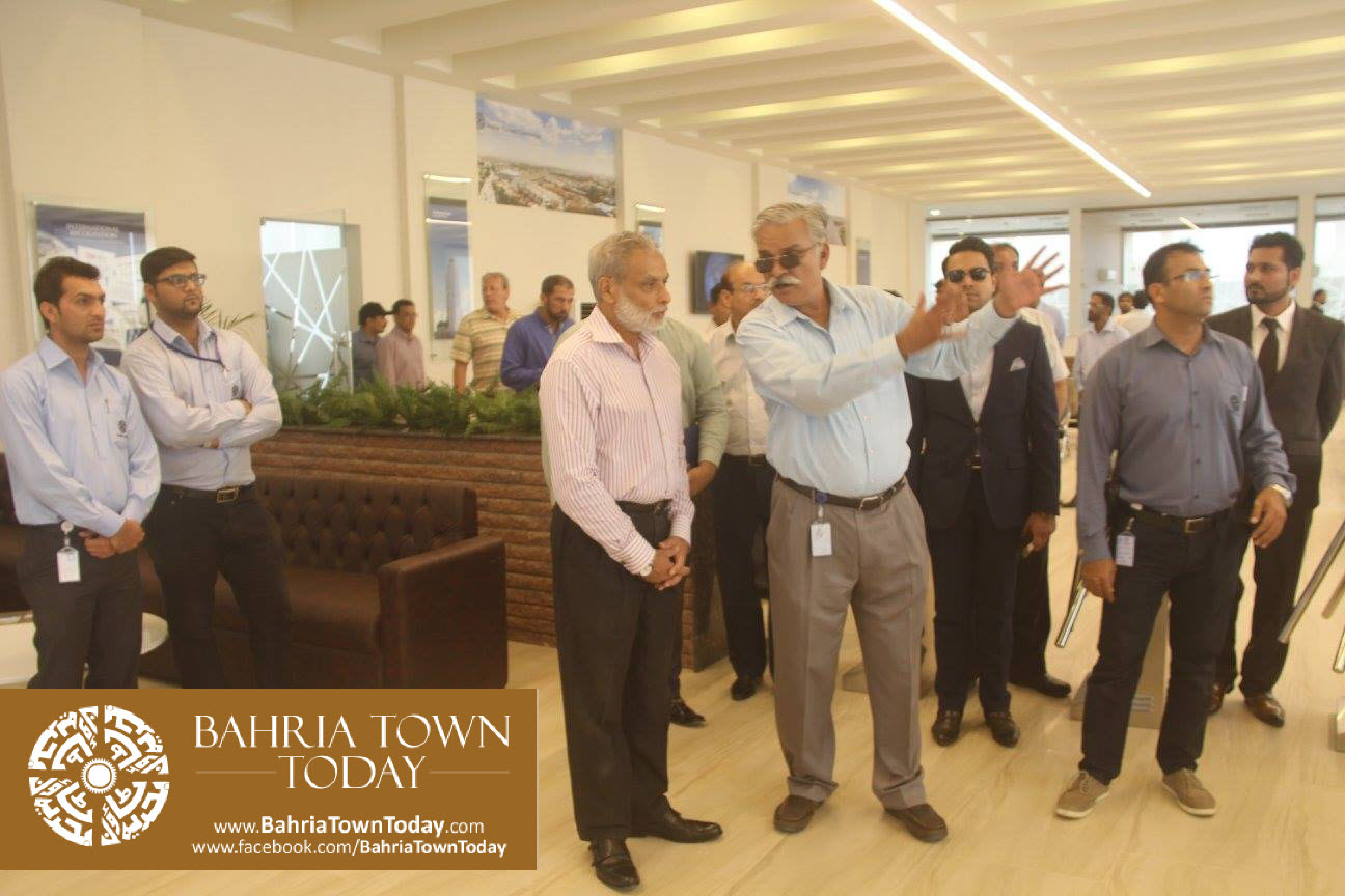 Inauguration of 'Sales & Marketing Office' of Bahria Town Karachi (5)