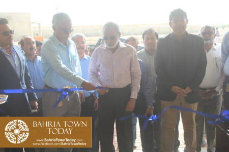 Inauguration of 'Sales & Marketing Office' of Bahria Town Karachi (6)