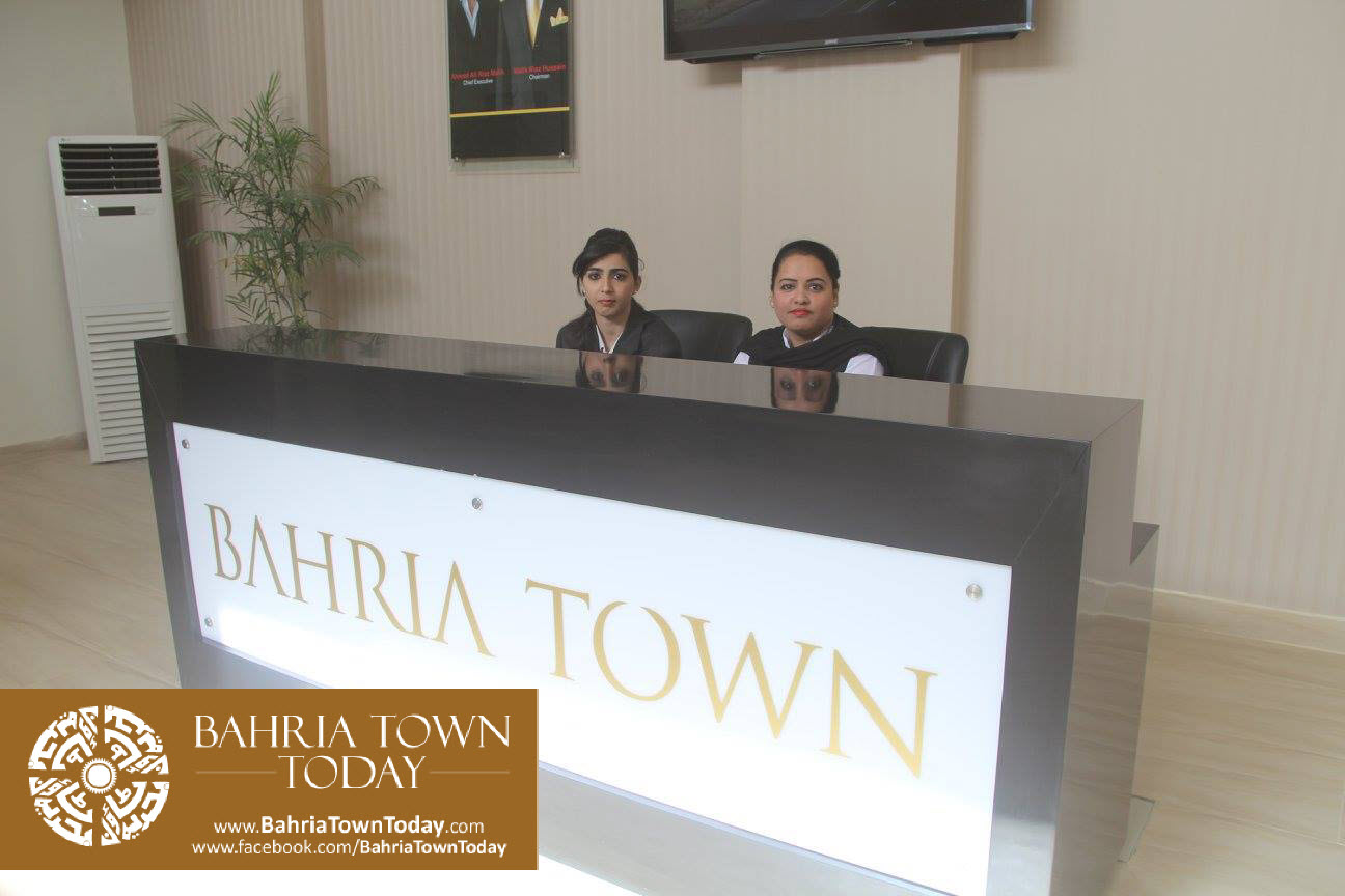 Inauguration of 'Sales & Marketing Office' of Bahria Town Karachi (8)