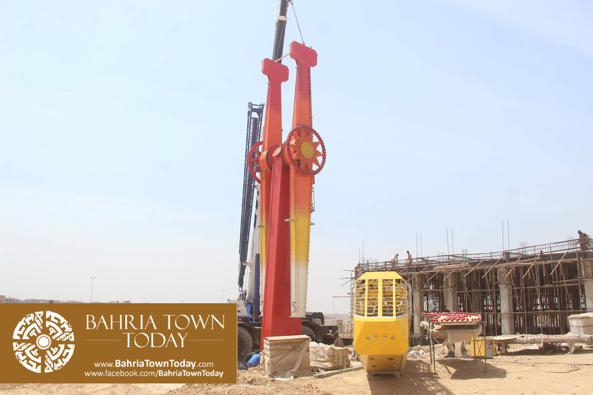 Bahria Adventura Theme Park Karachi Latest Progress Update – April 2016 (2)