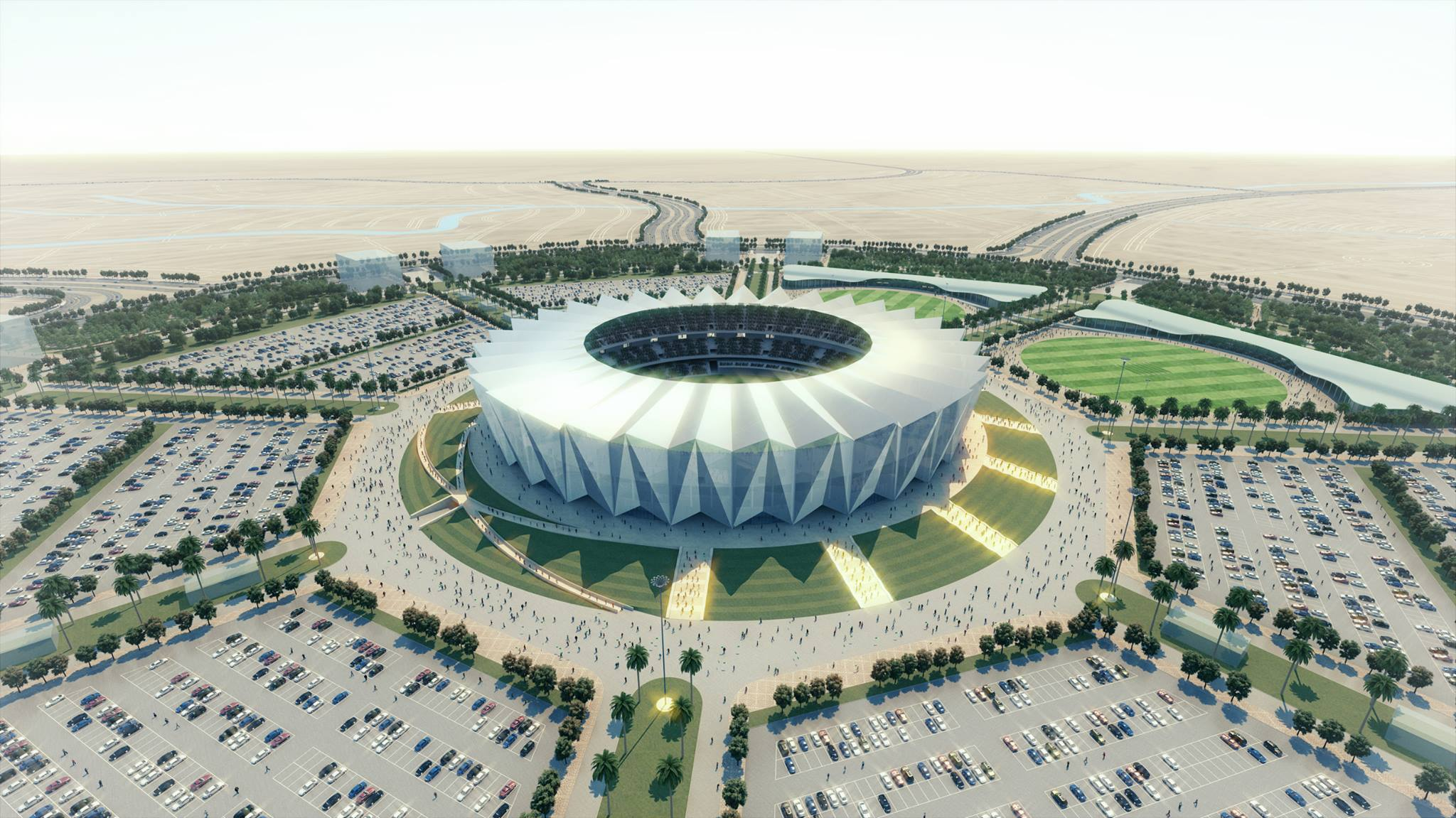 Bahria Town Karachi Unveils Design for Pakistan's Largest International Cricket Stadium (4)