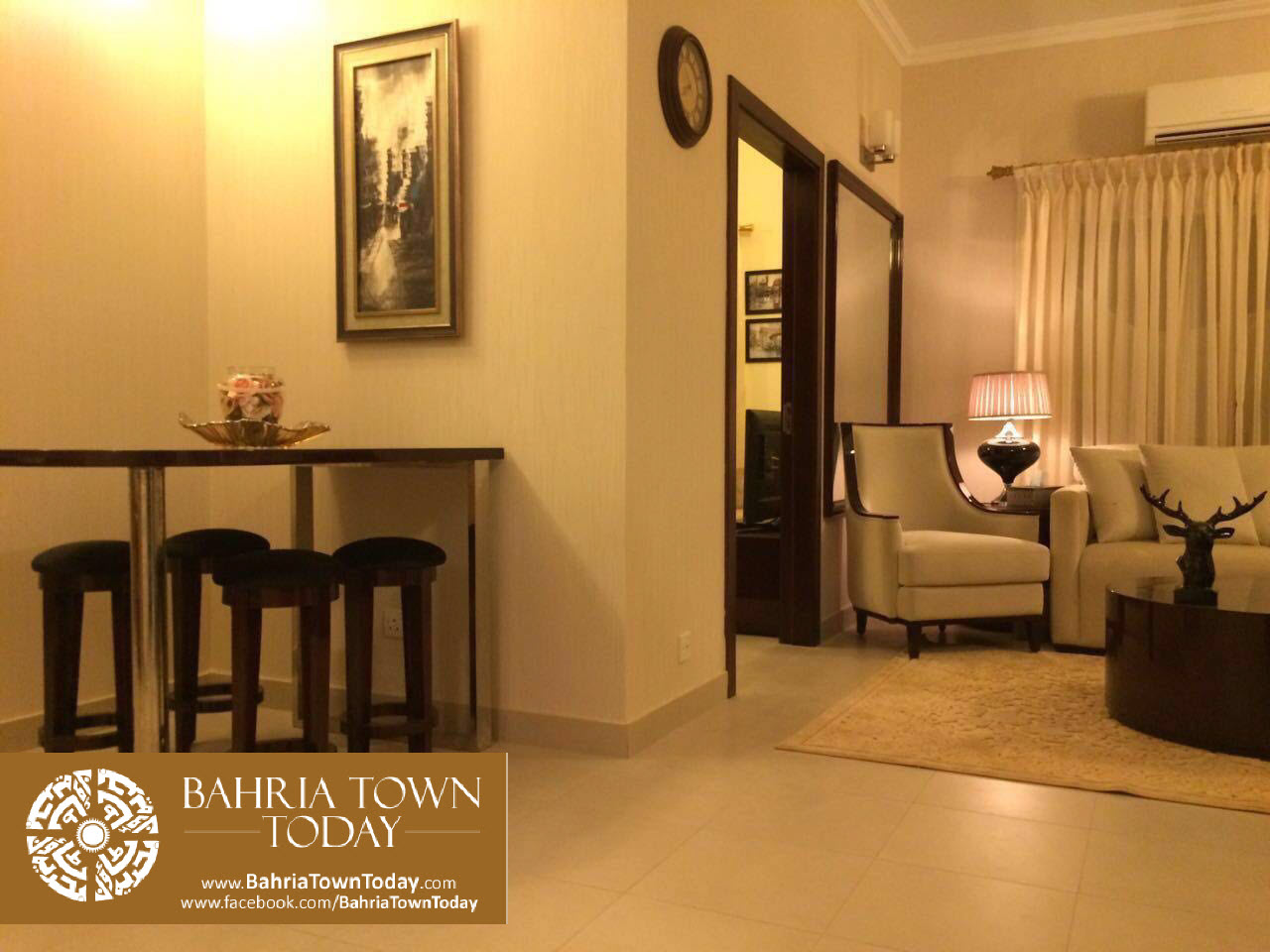 Previous Image Full Size Main Gallery Page Next 2 Bedroom Model Apartment Bahria Town Karachi