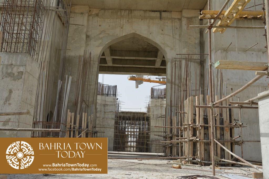 Grand Jamia Masjid Site Work Progress at Bahria Town Karachi – June 2016 (14)
