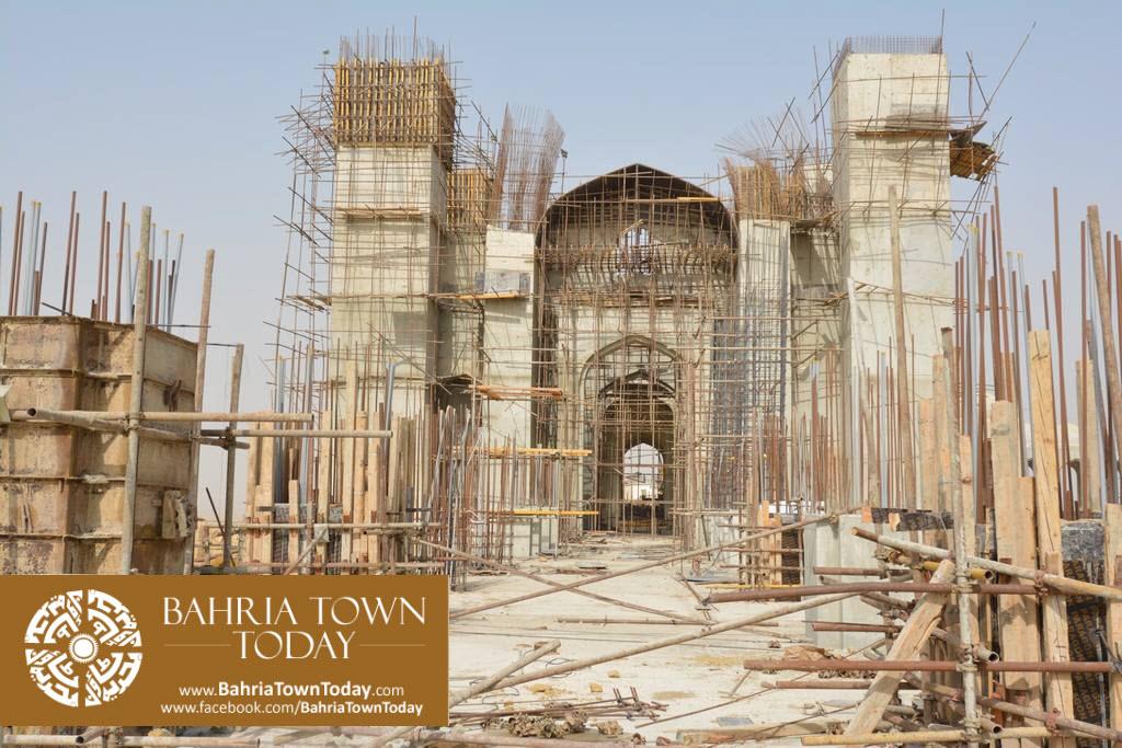 Grand Jamia Masjid Site Work Progress at Bahria Town Karachi – June 2016 (15)