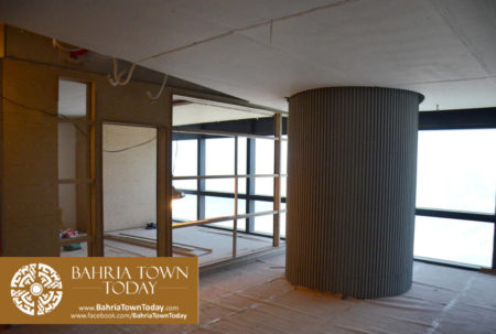 Interior Work in Progress at Bahria Town Icon Karachi (Office Tower) (1)