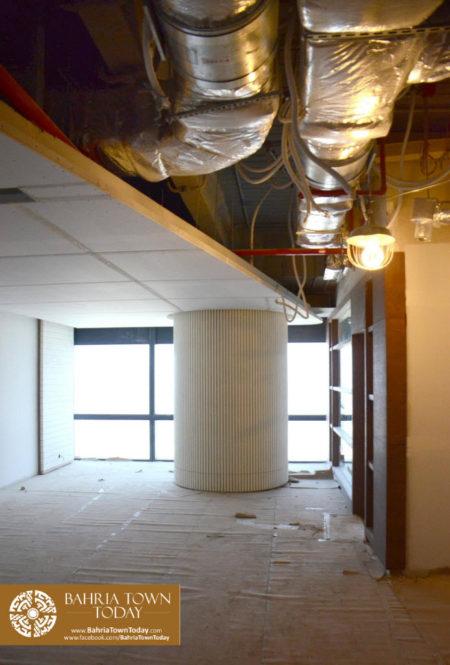 Interior Work in Progress at Bahria Town Icon Karachi (Office Tower) (10)
