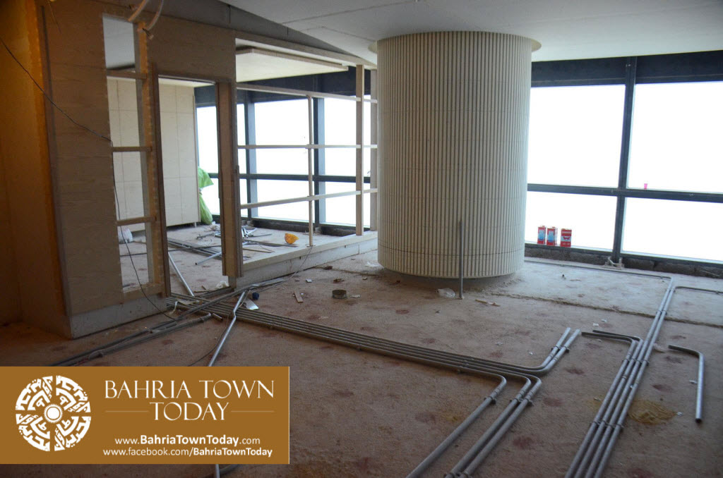 Interior Work in Progress at Bahria Town Icon Karachi (Office Tower) (11)