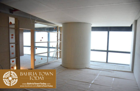 Interior Work in Progress at Bahria Town Icon Karachi (Office Tower) (14)
