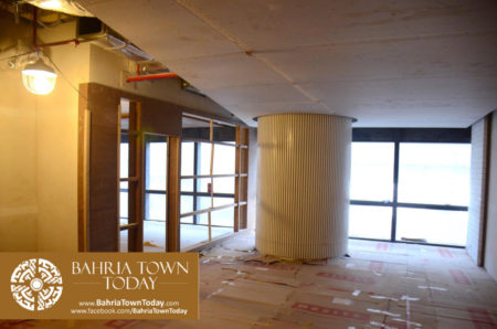Interior Work in Progress at Bahria Town Icon Karachi (Office Tower) (19)