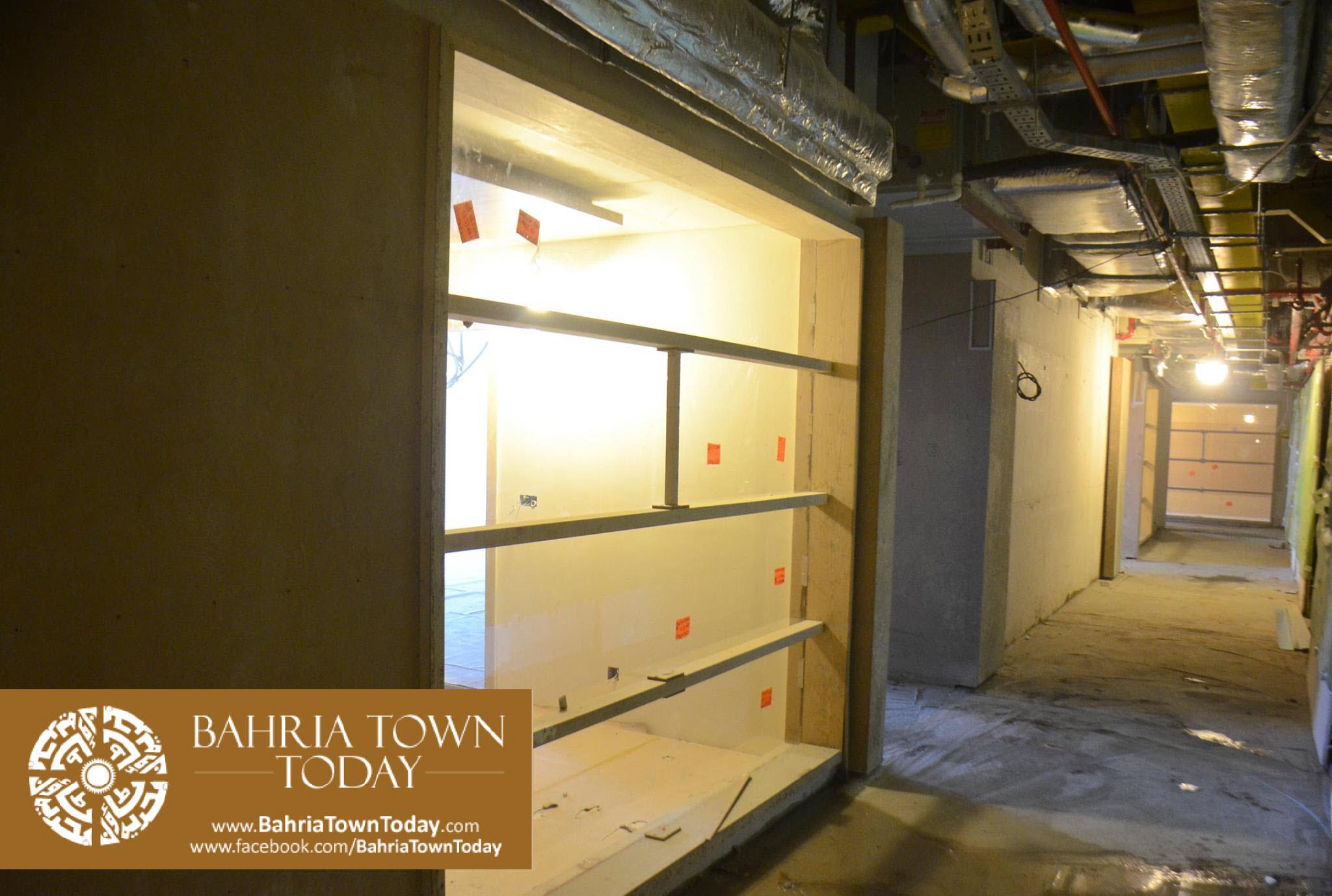 Interior Work in Progress at Bahria Town Icon Karachi (Office Tower) (2)